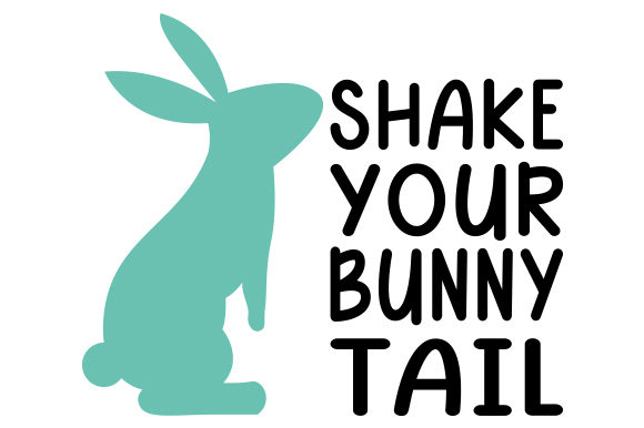 Shake Your Bunny Tail Easter Craft Cut File By Creative Fabrica Crafts