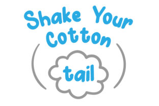 Shake Your Cotton Tail Easter Craft Cut File By Creative Fabrica Crafts