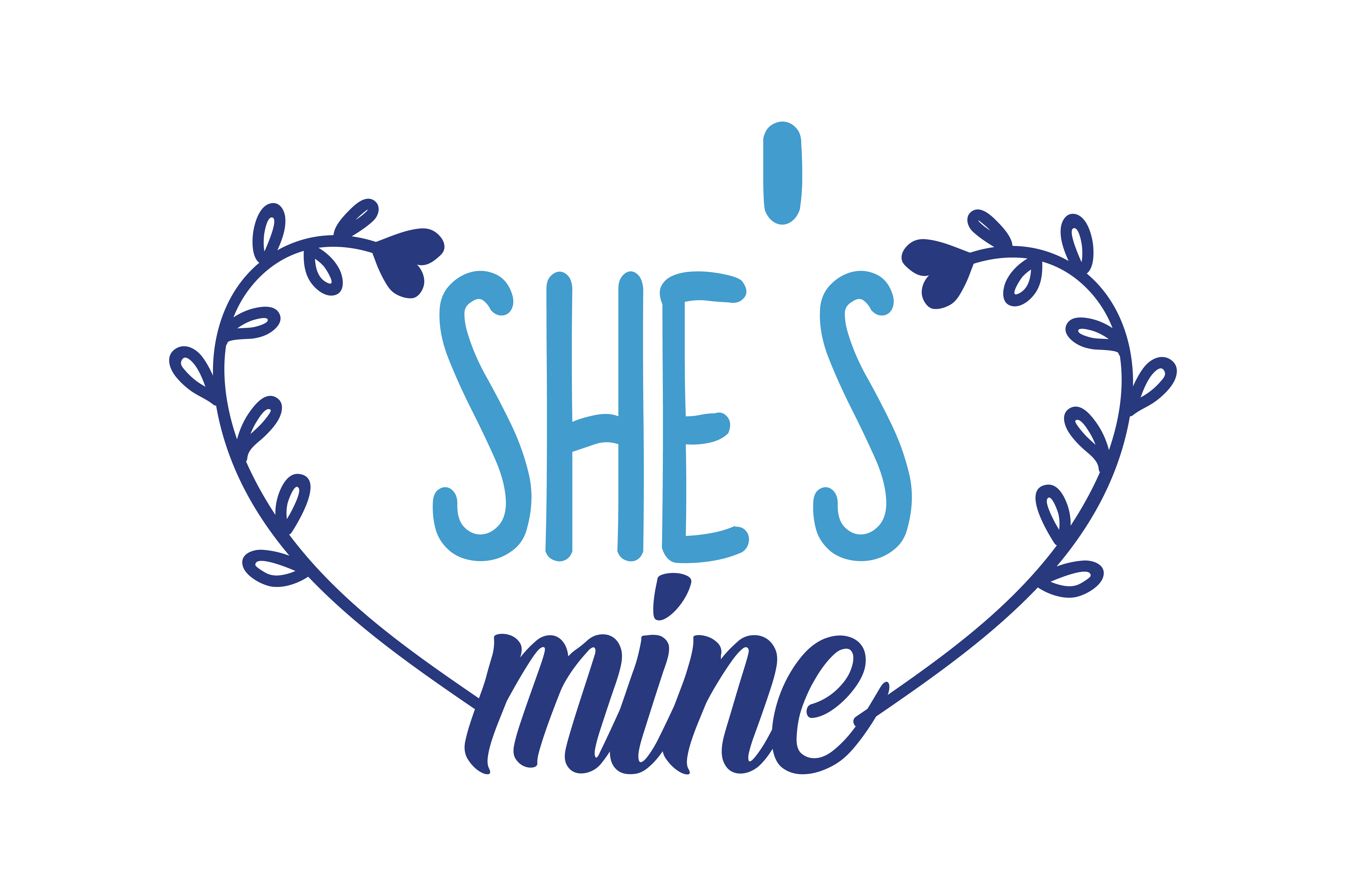 Download Free She S Mine Quote Svg Cut Graphic By Thelucky Creative Fabrica for Cricut Explore, Silhouette and other cutting machines.