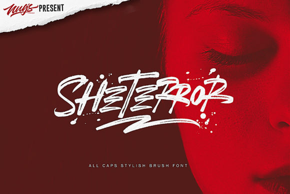SheTerror Display Font By Andrie Nugrie