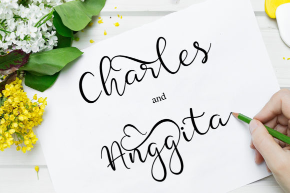 Print on Demand: Silver Soul Script & Handwritten Font By Fahrul Anggoro - Image 2