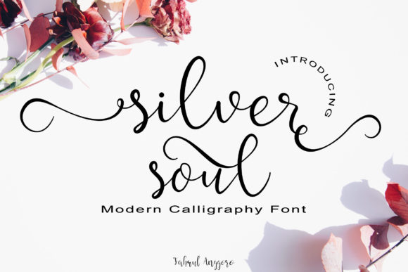 Print on Demand: Silver Soul Script & Handwritten Font By Fahrul Anggoro - Image 1