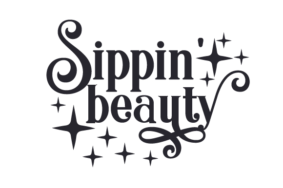 Download Free Sippin Beauty Svg Cut File By Creative Fabrica Crafts SVG Cut Files