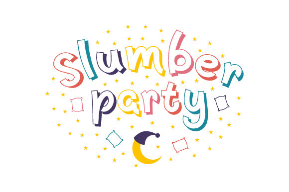 Slumber Party Planner Craft Cut File By Creative Fabrica Crafts
