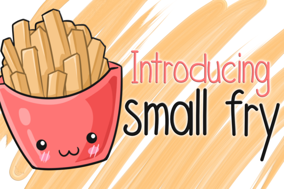 Small Fry Sans Serif Font By SugarBearStudio