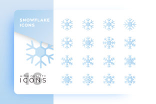 Snow Flat Icon Pack Graphic By Goodware.Std