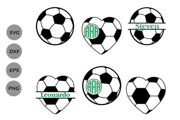 Print on Demand: Soccer Monogram Graphic Crafts By CosmosFineArt