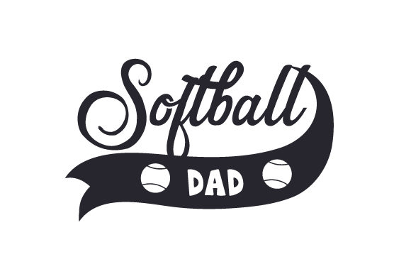 Download Free Softball Dad Svg Cut File By Creative Fabrica Crafts Creative for Cricut Explore, Silhouette and other cutting machines.