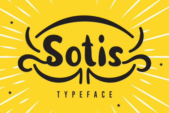 Print on Demand: Sotis Script & Handwritten Font By Rifki (7ntypes)