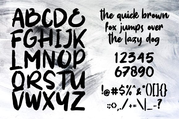 Print on Demand: Soul Paint Display Font By Garisman Studio - Image 6