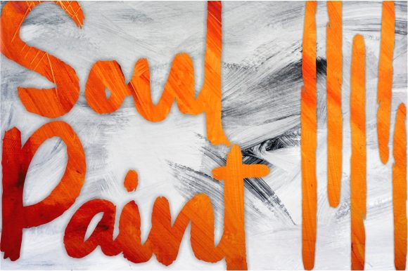 Print on Demand: Soul Paint Display Font By Garisman Studio