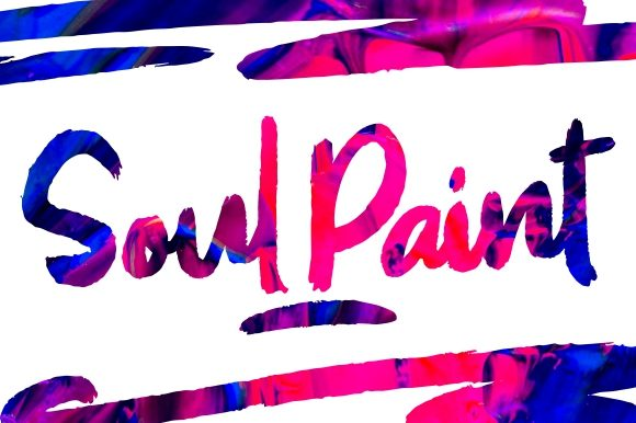 Print on Demand: Soul Paint Display Font By Garisman Studio - Image 8