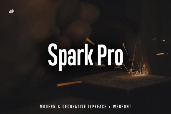 Download Free Spark Pro Font By Webhance Creative Fabrica for Cricut Explore, Silhouette and other cutting machines.