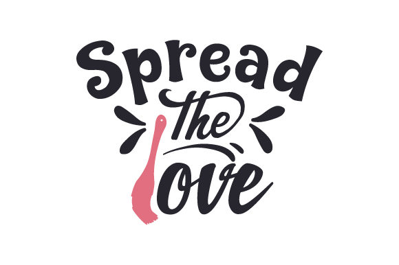 Download Free Spread The Love Svg Cut File By Creative Fabrica Crafts for Cricut Explore, Silhouette and other cutting machines.