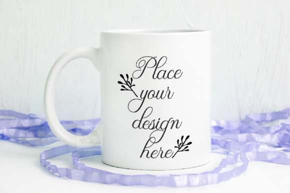 Print on Demand: Spring Easter Coffee Mug Mockup Graphic Product Mockups By Leo Flo Mockups