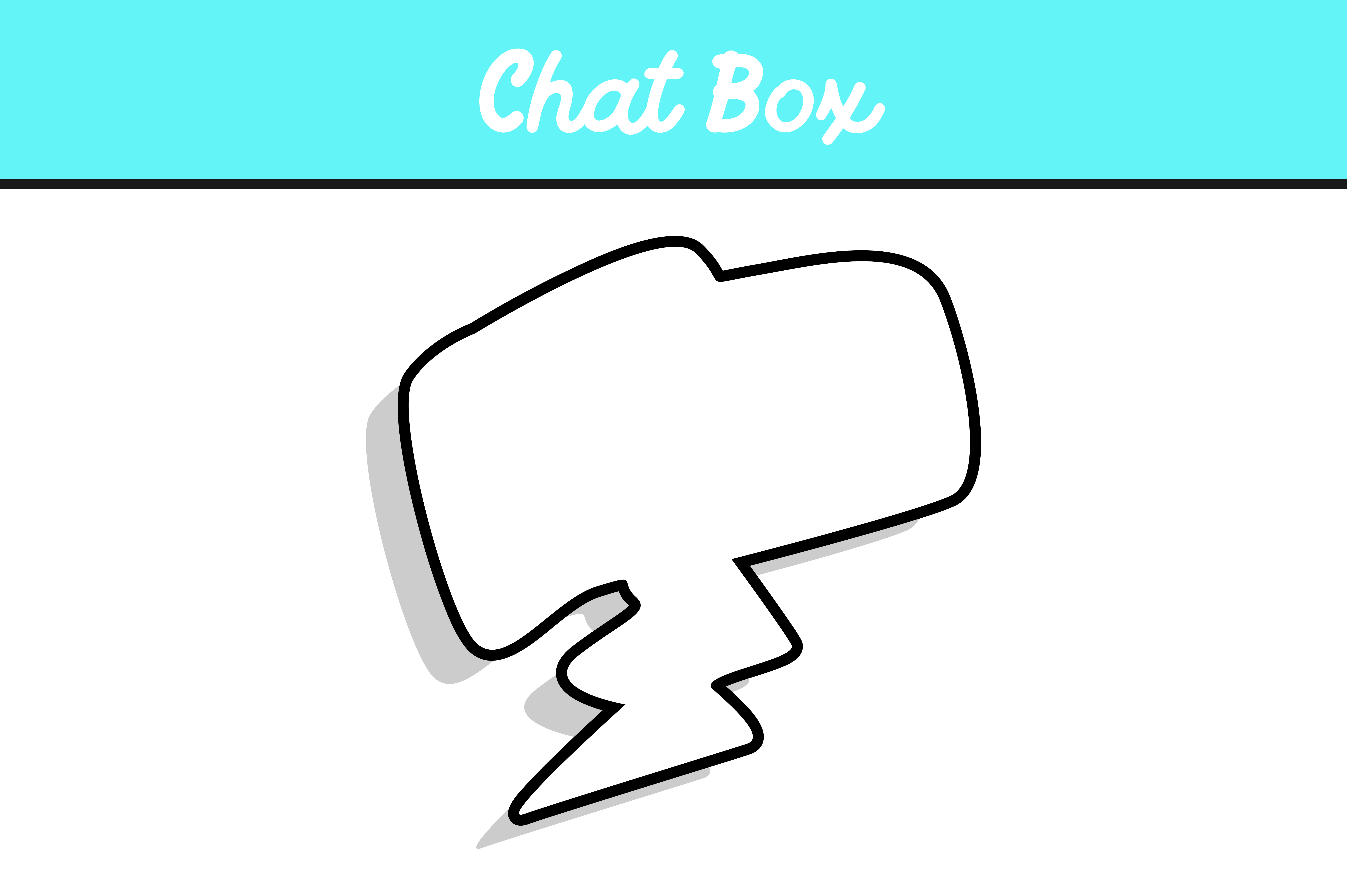 Download Free Square Chat Box Graphic By Arief Sapta Adjie Creative Fabrica for Cricut Explore, Silhouette and other cutting machines.