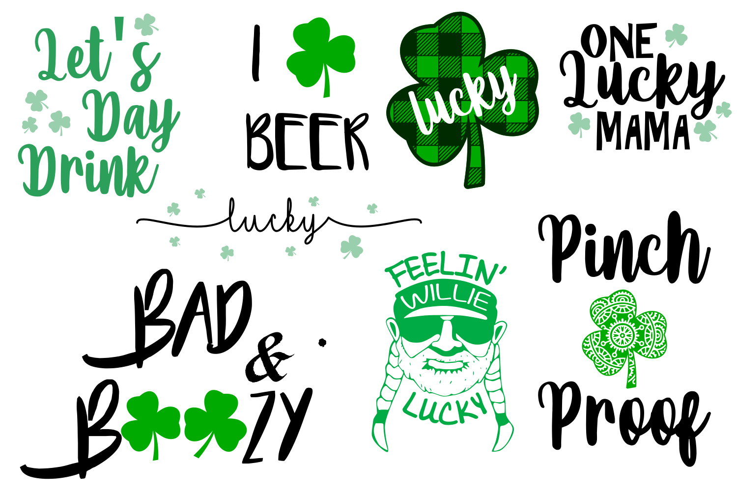 Download Free St Patrick S Bundle Graphic By Auntie Inappropriate Designs SVG Cut Files