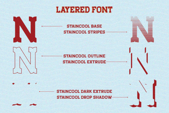 Download Free Staincool Family Font By Viaction Type Co Creative Fabrica for Cricut Explore, Silhouette and other cutting machines.