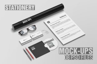 Stationery / Branding Mockup Graphic By graphiccrew