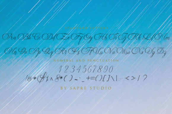 Print on Demand: Stingkie Script & Handwritten Font By sapre.studio - Image 5