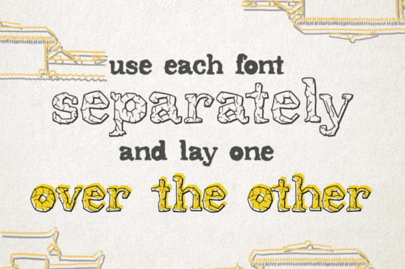 Print on Demand: Stonehill Duo Display Font By Red Ink - Image 3