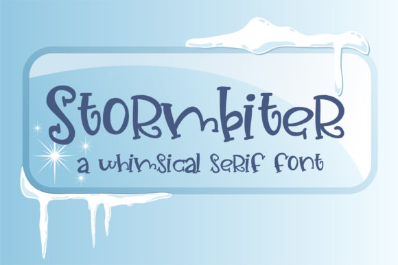 Stormbiter Font By Illustration Ink Image 1