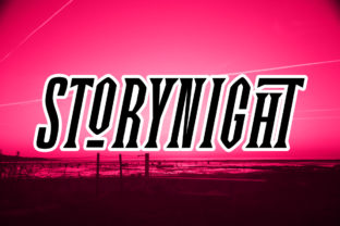 Print on Demand: Story Night Display Font By Epiclinez