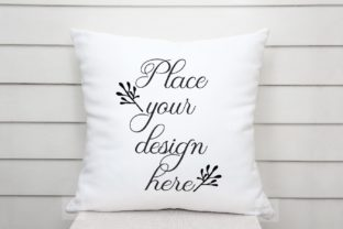 Print on Demand: Sublimation Pillow Cushion Mockup Graphic Product Mockups By Leo Flo Mockups