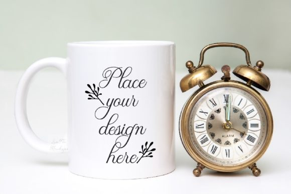Print on Demand: Sublimation White Coffee Mug Mockup Graphic Product Mockups By Leo Flo Mockups