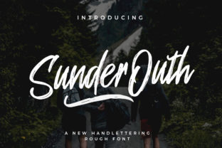 Sunder Outh Font By indotitas