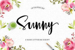 Sunny Script Font By luckytype.font