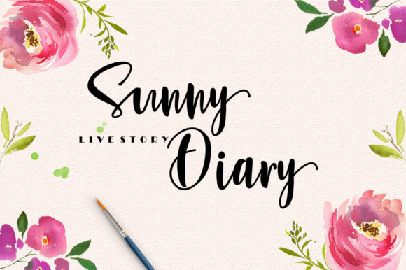 Sunny Script Font By luckytype.font Image 5