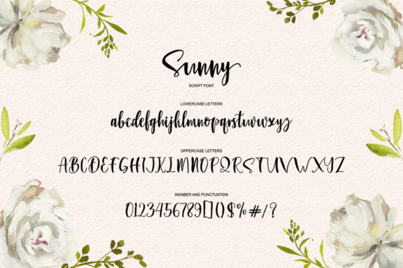 Sunny Script Font By luckytype.font Image 8