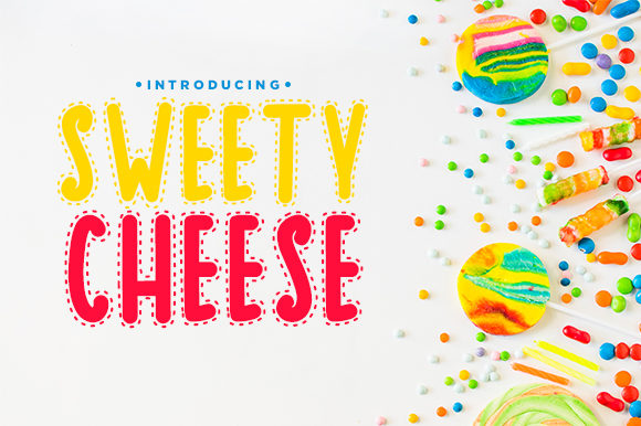 Print on Demand: Sweety Cheese Decorative Font By Docallisme