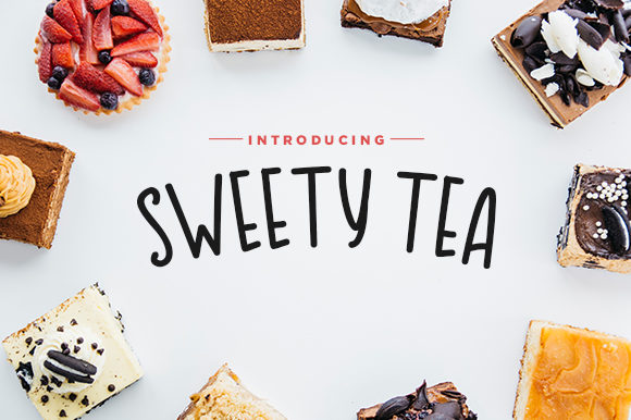 Sweety Tea Font By Docallisme  Image 1