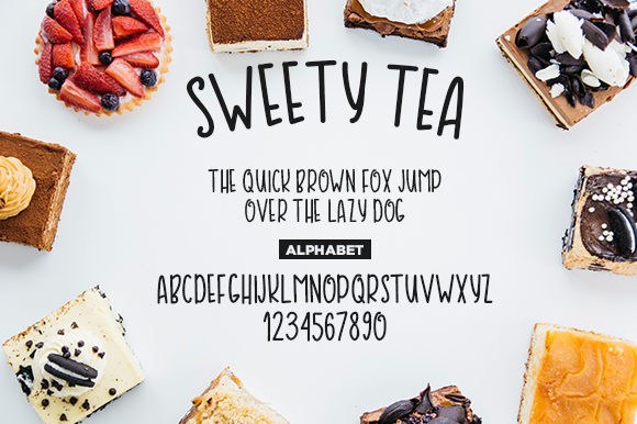 Sweety Tea Font By Docallisme  Image 3