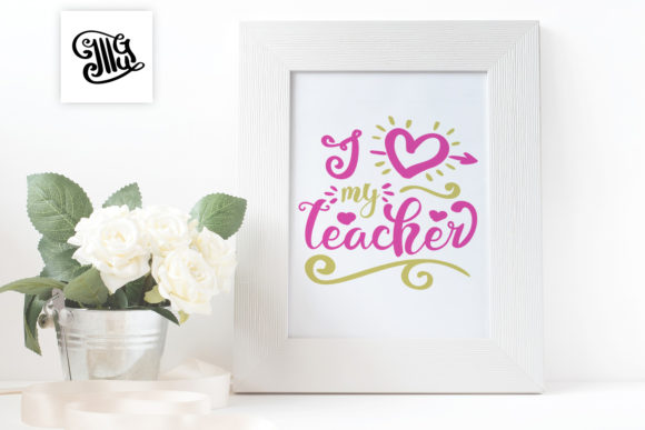 Teacher Valentine Svg Bundle
