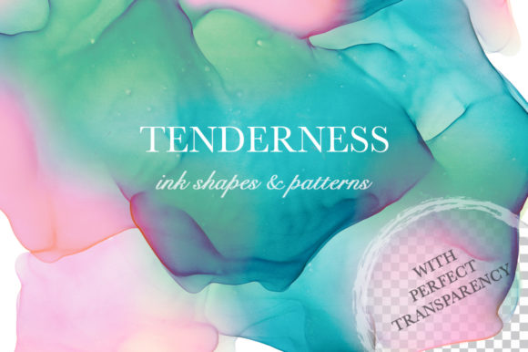 Print on Demand: Tenderness. Ink Texture Collection. Graphic Textures By Red Ink