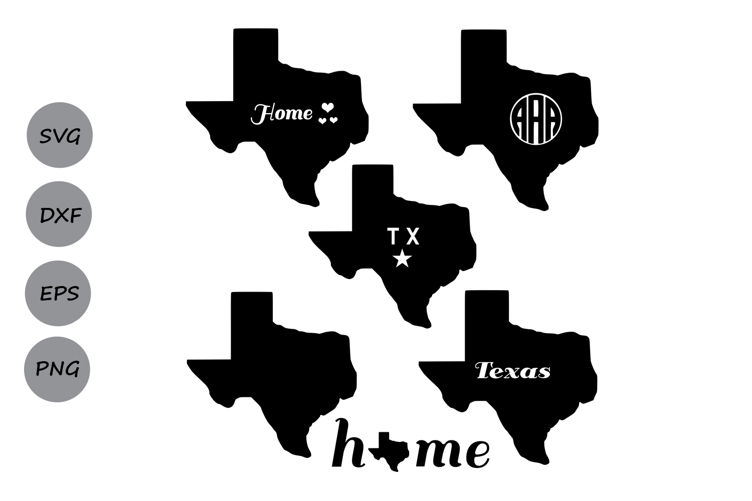 Download Free Texas Monogram Graphic By Cosmosfineart Creative Fabrica for Cricut Explore, Silhouette and other cutting machines.