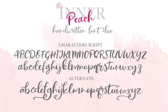The Inner Peach Duo Font By PaulaType Image 9