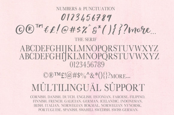 The Inner Peach Duo Font By PaulaType Image 10