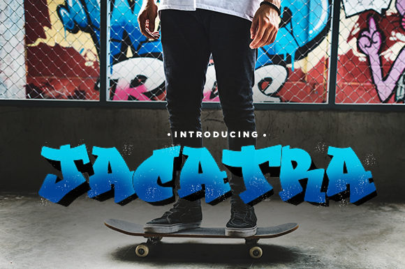 Print on Demand: The Jacatra Decorative Font By Docallisme