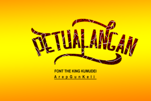 Print on Demand: The King Kumudei Blackletter Font By Arepgunkell 2
