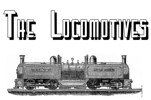 Print on Demand: The Locomotives Display Font By Intellecta Design