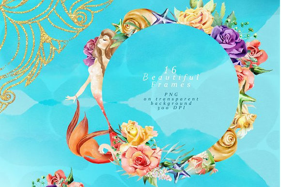 Print on Demand: The Mermaids Heaven Graphic Illustrations By Anna Babich - Image 5