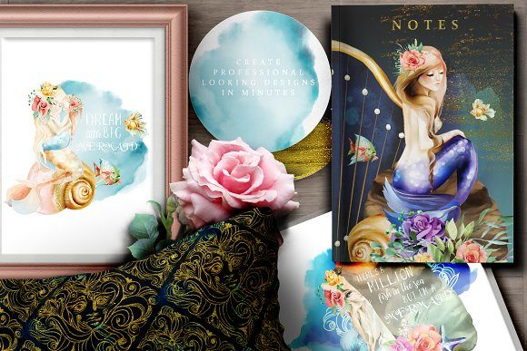 Print on Demand: The Mermaids Heaven Graphic Illustrations By Anna Babich - Image 9
