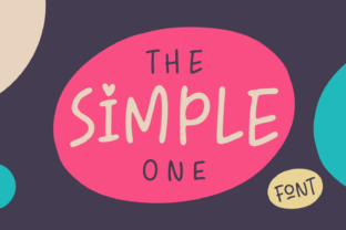 The Simple One Font By Situjuh