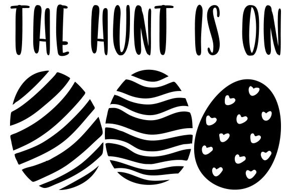 The Hunt is on Easter Craft Cut File By Creative Fabrica Crafts - Image 2