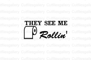 Download Free They See Me Rollin Svg Graphic By Cutfilesgallery Creative for Cricut Explore, Silhouette and other cutting machines.