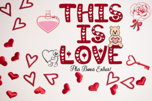This is Love Font By Anastasia Feya